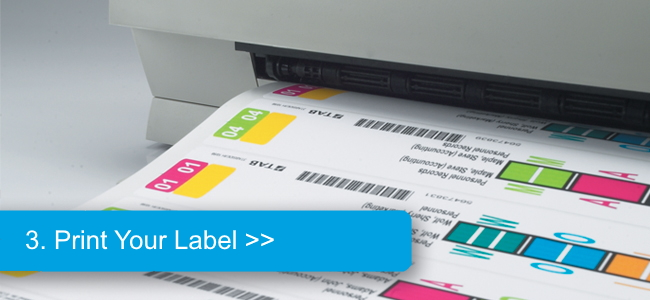 Simply Login And Print Color Coded File Labels In Three Easy Steps Access A Wide Variety Of Label Designs Or Have Custom Design Created To Match